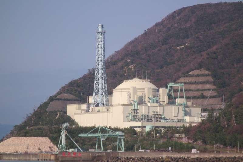 位於日本福井縣的快中子增殖反應爐核電廠。(取自Nife@wikipedia/CC BY-SA 3.0)