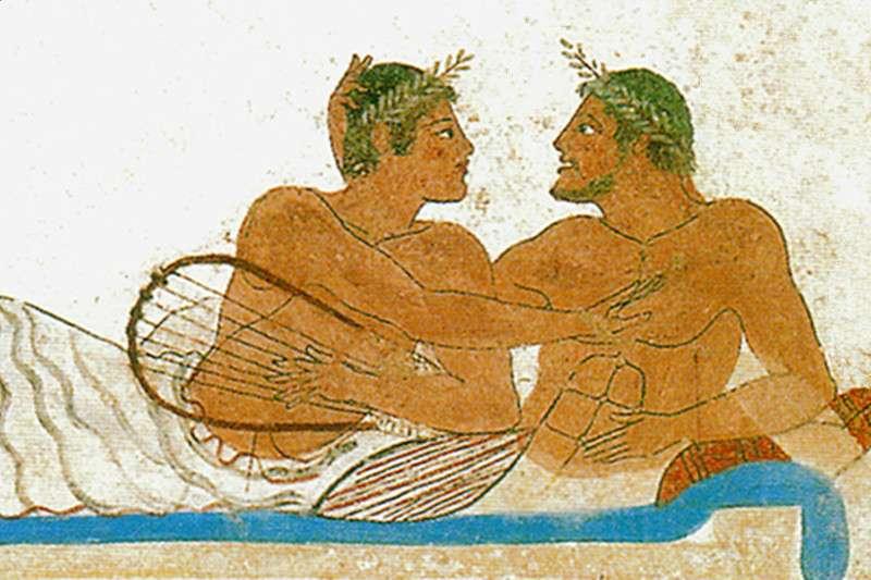 在古希臘,大叔與少年之間的愛情才是主流啊!(圖/維基百科)