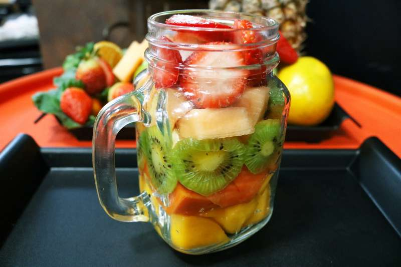 把水果當早餐錯了嗎?(圖/pixabay)