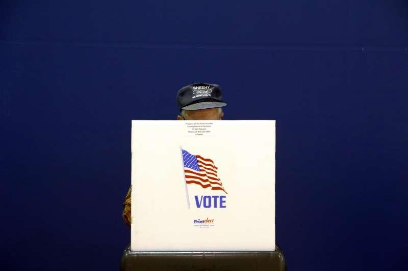 2018年美國期中選舉在11月6日登場。(美聯社)