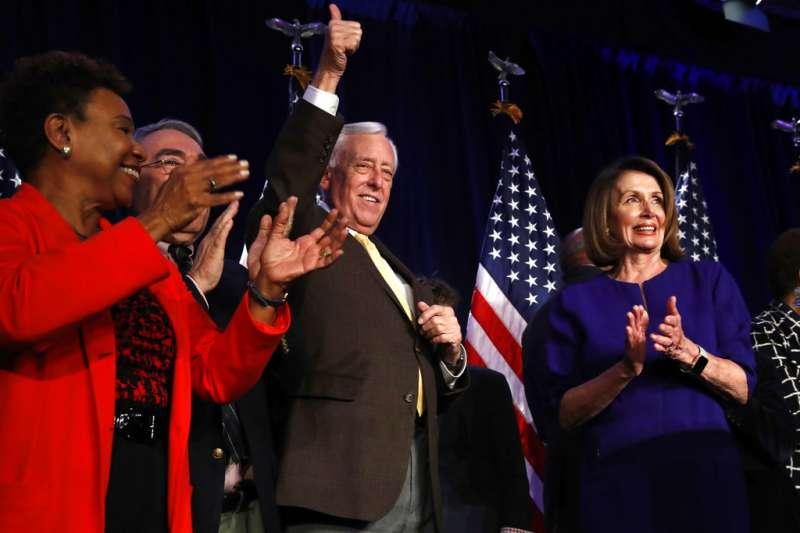 2018美國期中選舉、眾議院民主黨領袖裴洛西。(AP)