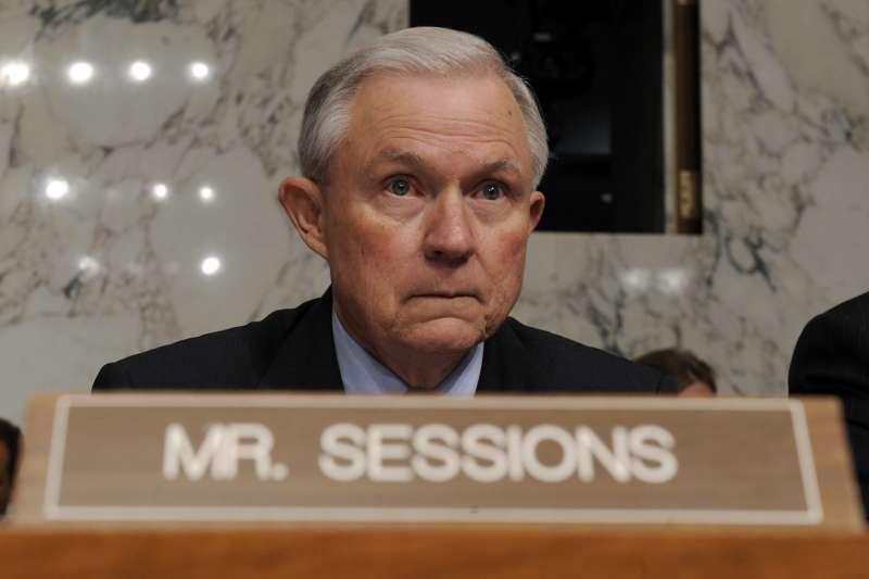 美國前司法部長賽辛斯(Jeff Sessions)(AP)