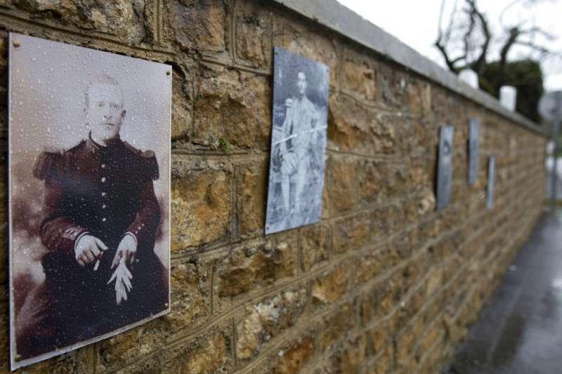 第一次世界大戰最後一名死於戰場的法國士兵──奧古斯汀.特雷比雄。(AP)