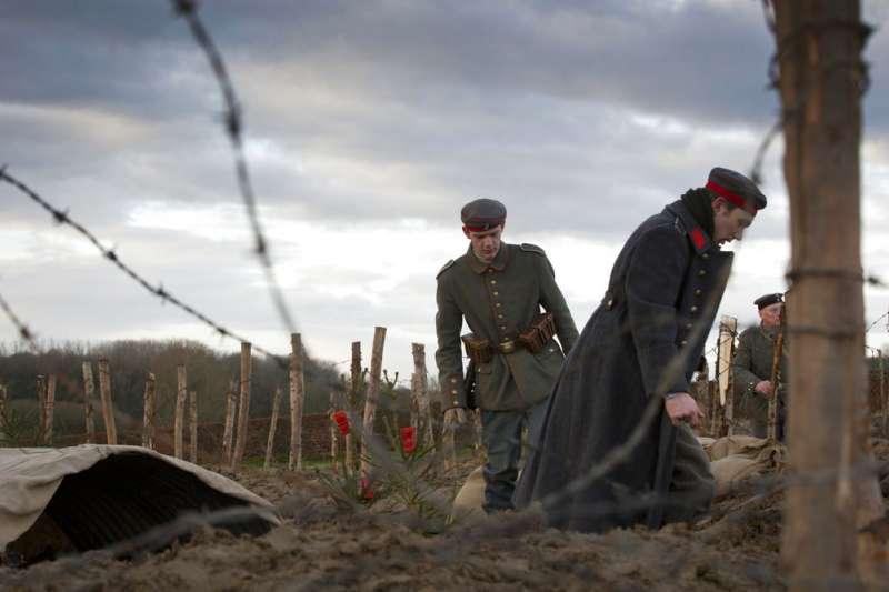 2018年11月11日是一戰終戰百年,但德國境內沒有任何正式官方紀念活動。(AP)