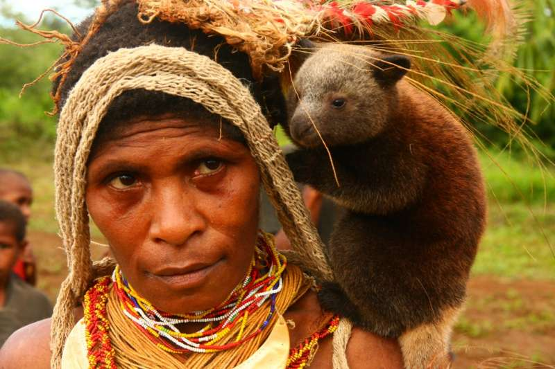 巴布亞紐幾內亞的人民。(panvorax@Wikipedia / CC BY 2.0)