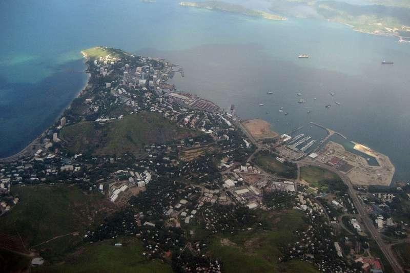 巴布亞紐幾內亞首都莫士比港(Mark Matson@Wikipedia / CC BY 2.0)