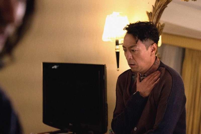 20181112_外型陽剛的姜皓文,在《翠絲》演出壓抑多年的跨性別角色。(雙囍電影提供)