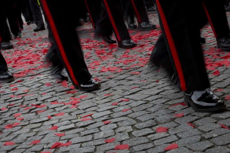 罌粟花,紀念第一次世界大戰的象徵(AP)
