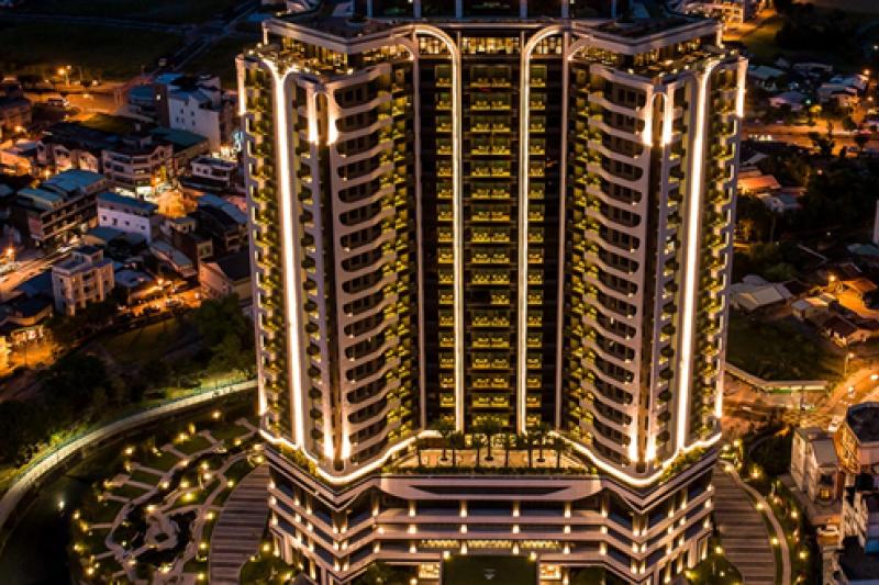 村却國際溫泉飯店是宜蘭羅東第一家五星級飯店。(圖片提供 :村却國際溫泉酒店 )