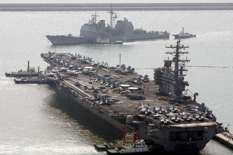 美國海軍「雷根號」(USS Ronald Reagan)航空母艦(AP)