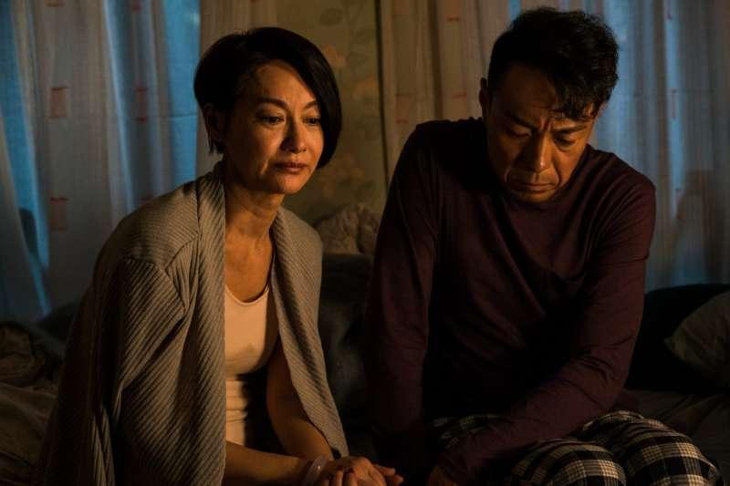 惠英紅在《翠絲》裡飾演大雄的妻子,年過半百才突然被丈夫告知,其實他一直都覺得自己是女人。(圖/金馬影展)