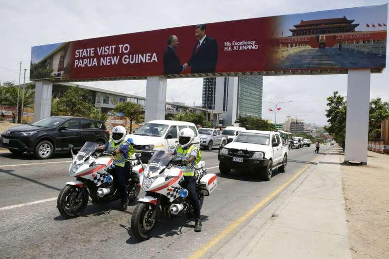 2018年亞太經濟合作會議(APEC)在巴布亞紐幾內亞登場,習近平15日先抵達巴紐進行國是訪問。(AP)