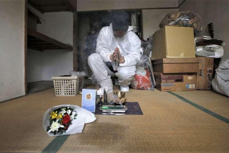 日本處於超高齡化社會,許多獨居老人在家孤老終生。(圖/*CUP提供)