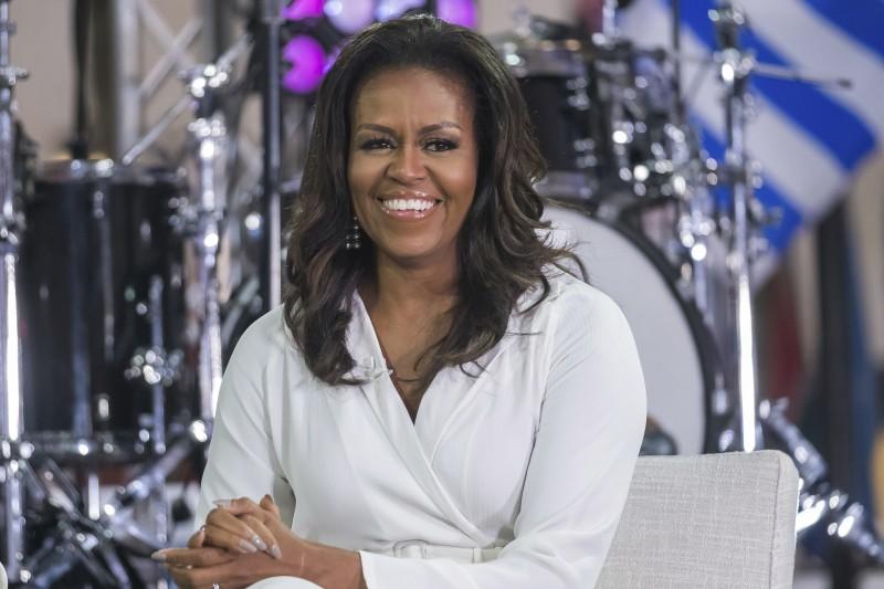 美國前第一夫人蜜雪兒.歐巴馬(Michelle Obama)(AP)