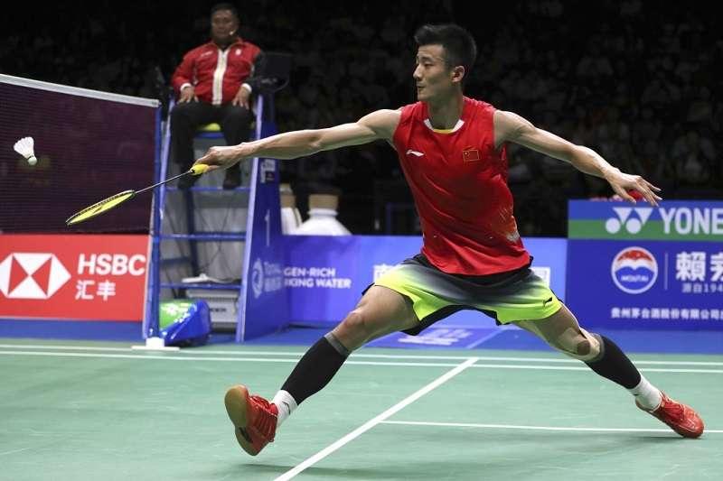 中國羽球男單在香港公開賽出師不利,4名選手僅有諶龍能夠順利進軍16強。 (美聯社)