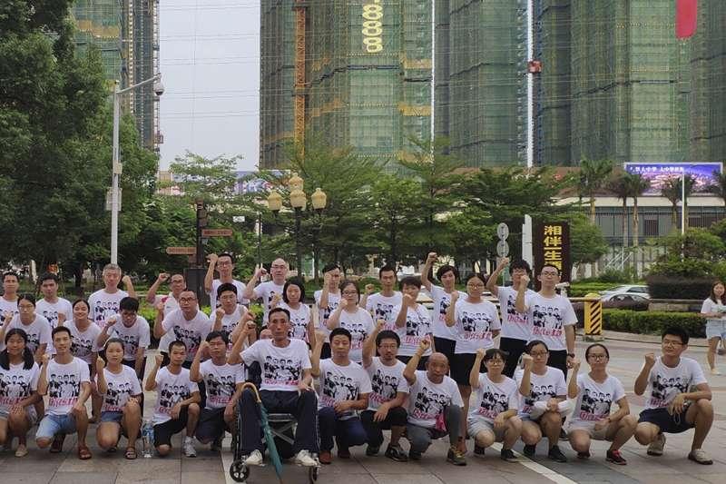 中國北京大學學生聲援勞工團體,結果陸續「被失蹤」(AP)