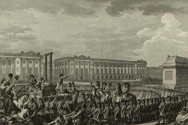法國國王路易十六1793年1月21日遭斬首處決(Wikipedia / Public Domain)