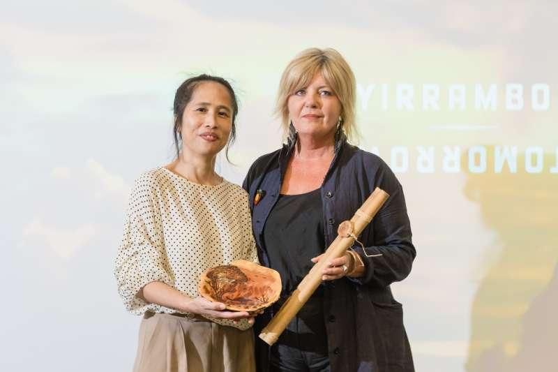 明年五月那高‧卜沌將帶著台灣原住民藝術家參加YIRRAMBOI明日藝術節,踏足國際舞台(圖/財團法人原住民族文化事業基金會)