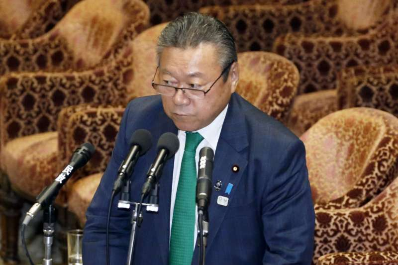 日本政府網路安全戰略總部的擔當大臣兼奧運大臣櫻田義孝