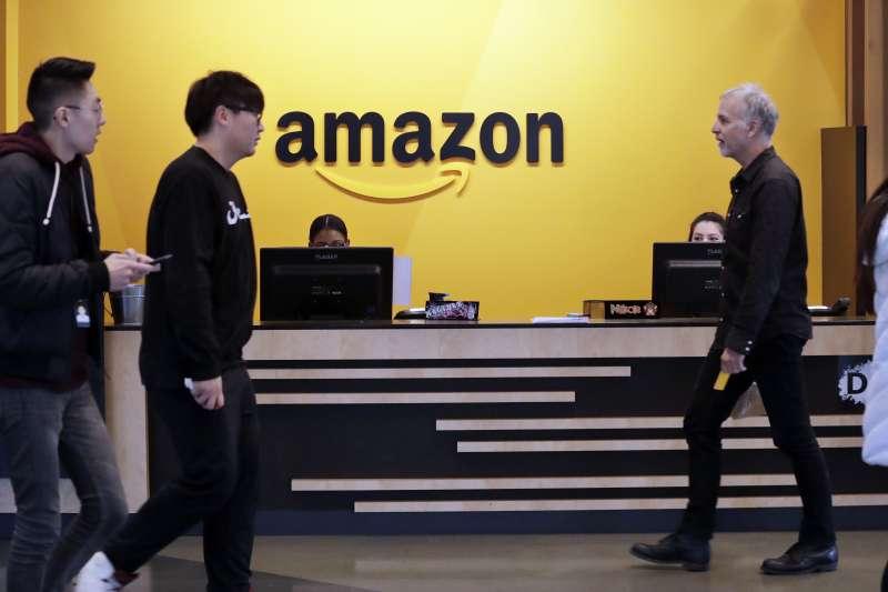 全球電商鉅子亞馬遜(Amazon)(AP)