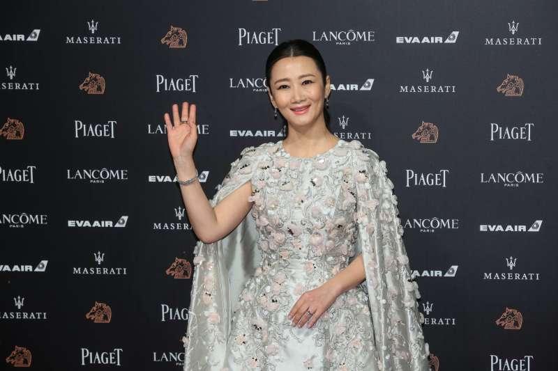 20181117-第55屆金馬獎,《江湖兒女》趙濤。(顏麟宇攝)