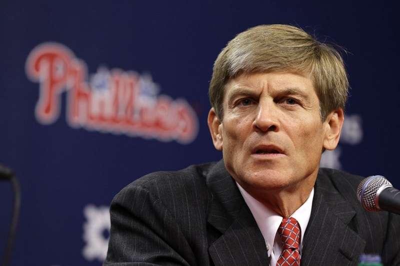 費城人老闆米德爾頓談及今年自由市場上球團的操作,將會以花大錢來應對。(美聯社)
