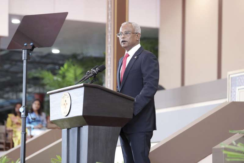 馬爾地夫新總統索里宣誓就職(AP)