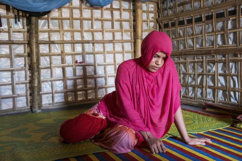 人口販運受害者蘇可達拉。(Junhee Jang攝)