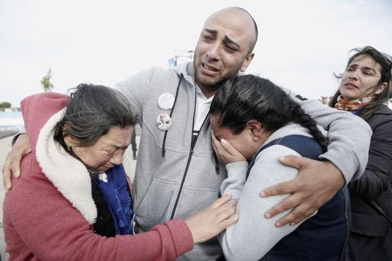 2017年11月15日,阿根廷海軍潛艦「聖胡安號」(ARA San Juan)出海後爆炸、失蹤,44位官兵殉國(AP)
