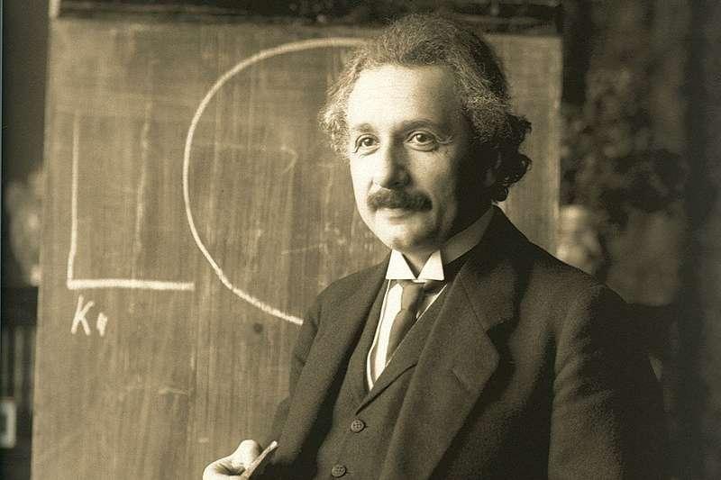 愛因斯坦的大腦,到底有什麼不一樣?(圖/維基百科)