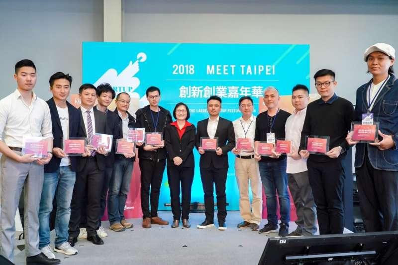 創新創業嘉年華MeetTaipei精彩展現台灣服務業創新的堅強實力。(圖/創業嘉年華提供)