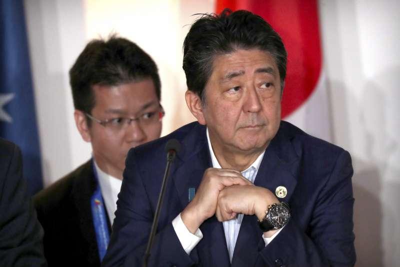 2018年11月,巴布亞紐幾內亞APEC峰會,日本首相安倍晉三(AP)