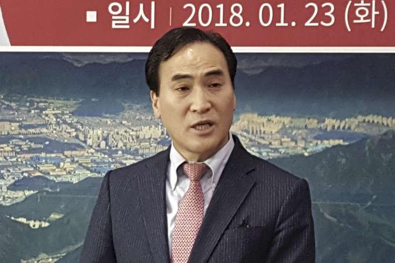 國際刑警組織(Interpol)南韓籍新主席金鍾陽(AP)