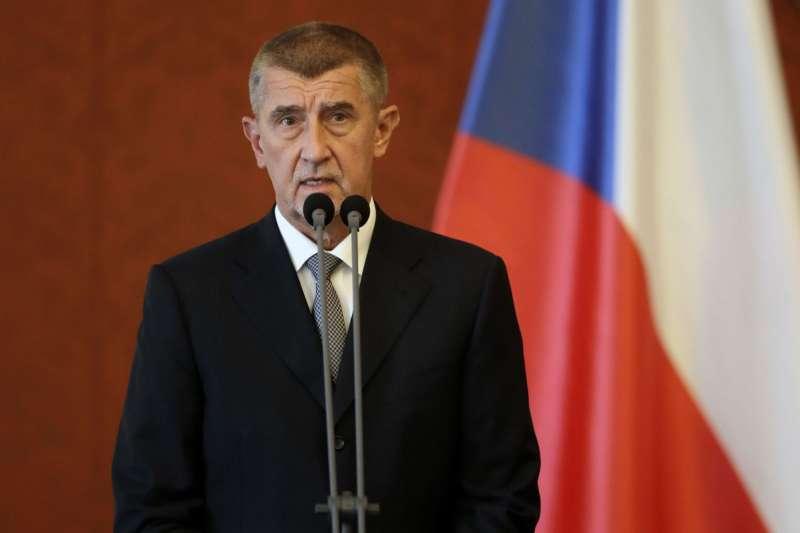 捷克總理、億萬富豪巴比什(美聯社)