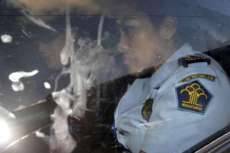 澳洲運毒團體「峇里島9人幫」成員芮內(Renae Lawrence)印尼出獄返回澳洲(AP)