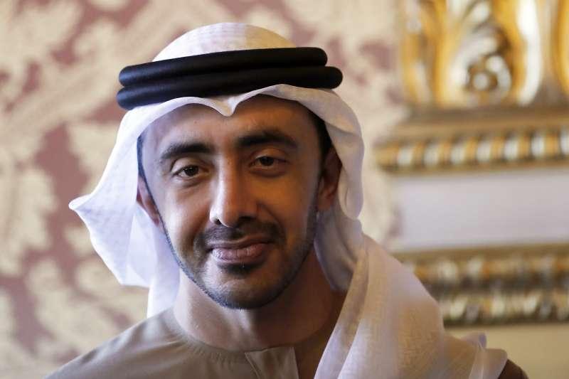 阿拉伯聯合大公國(UAE)外交部長阿布杜拉(Abdullah bin Zayed)(AP)