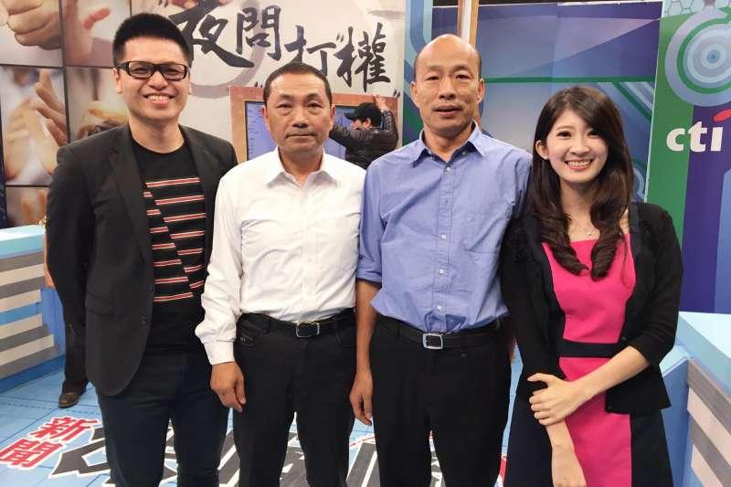 高雄選情激烈,有「北漂最正女主持人」之稱的國民黨青年黨代表李明璇(右一)23日呼籲,大家千萬不要輕易放棄返鄉投票的權力。(擷取自李明旋臉書)