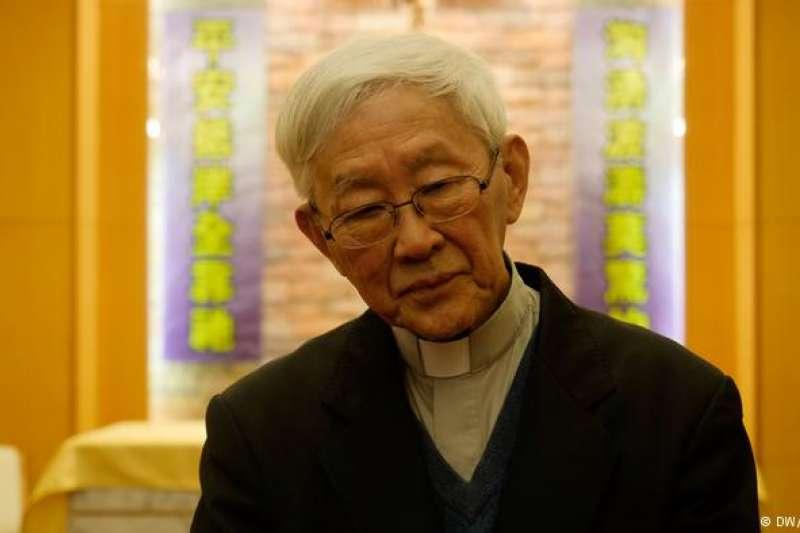香港榮休主教陳日君(DW)