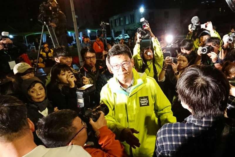 得票數創民進黨史台北市長選舉新低 姚文智:不接受任何政治職務-風傳媒