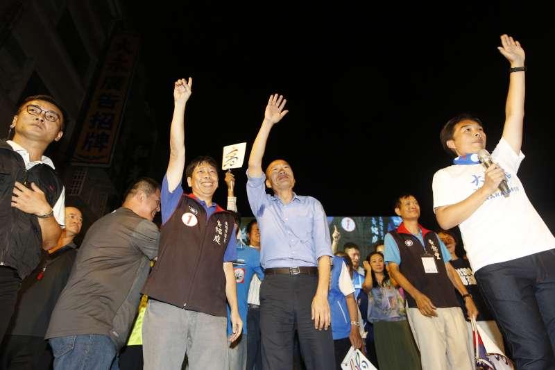 當選高雄市長,韓國瑜開始布局小內閣人事,點出副市長要清廉、專業,外語能力佳。(資料照,新新聞郭晉瑋攝)