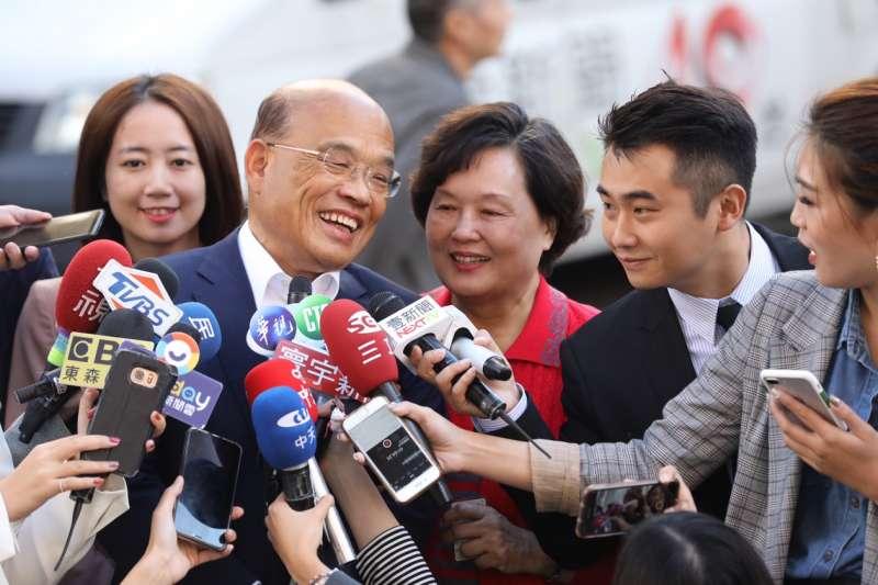 排半小時才投票 蘇貞昌呼籲:要用耐心守護民主價值-風傳媒