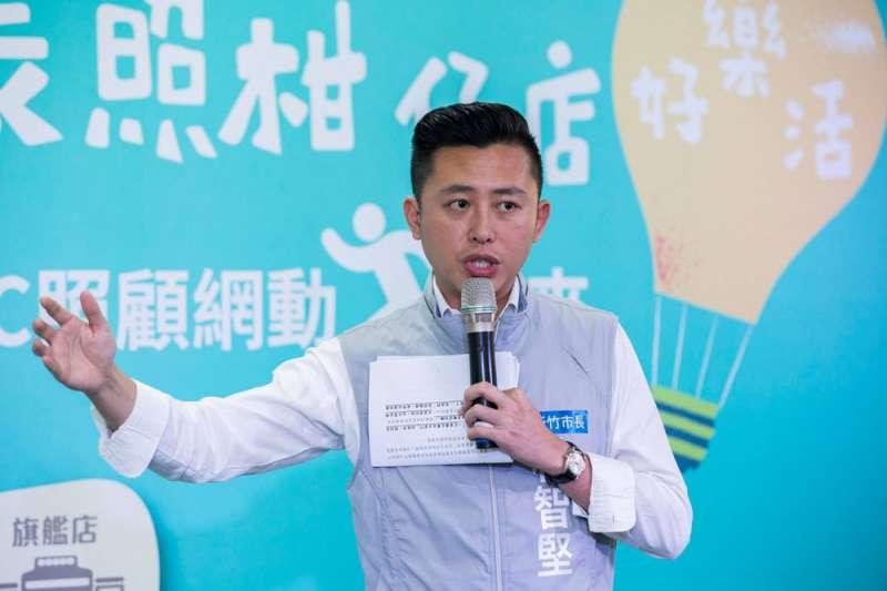 年輕的林智堅連任新竹市長後,在政壇前途看漲。(翻攝自林智堅臉書)