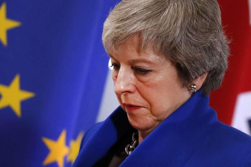 英國首相梅伊(Theresa May)肩負帶領英國脫歐(Brexit)的重任(AP)