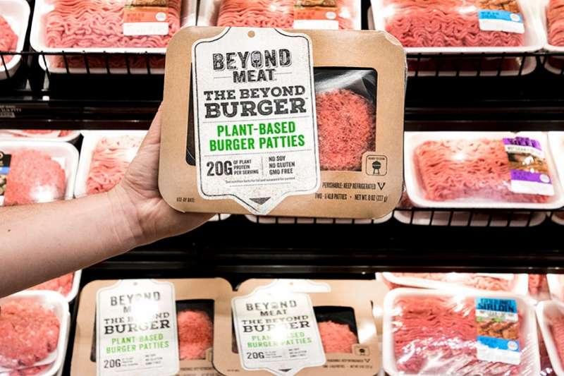 新創Beyond Meat最近提交上市申請書。(Beyond Meat官網)