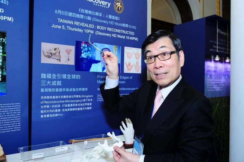 為何2018台灣醫療科技展及「Train the Trainer」項目值得關注,台灣頂尖顯微重建整形外科專家魏福全醫師,對此有獨到的心得(圖 / 魏福全醫師提供)