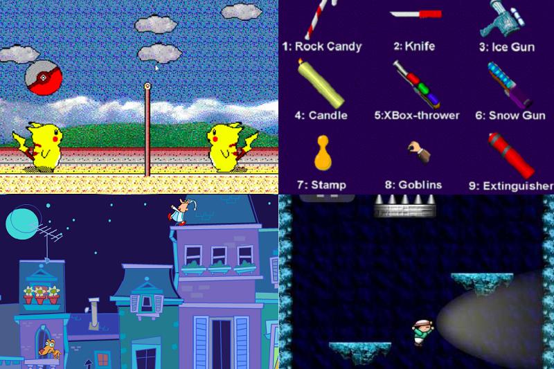 這10款超懷舊遊戲,你玩過哪些?快來測測看你算不算是小遊戲達人!(圖/截自遊戲畫面,編輯合成)
