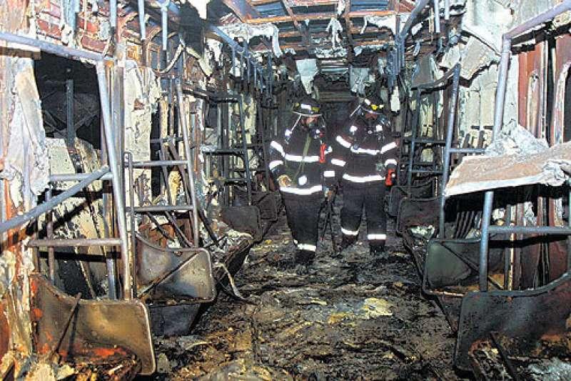 2003年,大邱廣域市地鐵發生嚴重的列車人為縱火事件,造成193人死亡、151人輕重傷,是東亞繼東京地鐵沙林毒氣事件後,另一起傷亡慘重的地鐵事故。(圖/取自維基百科)