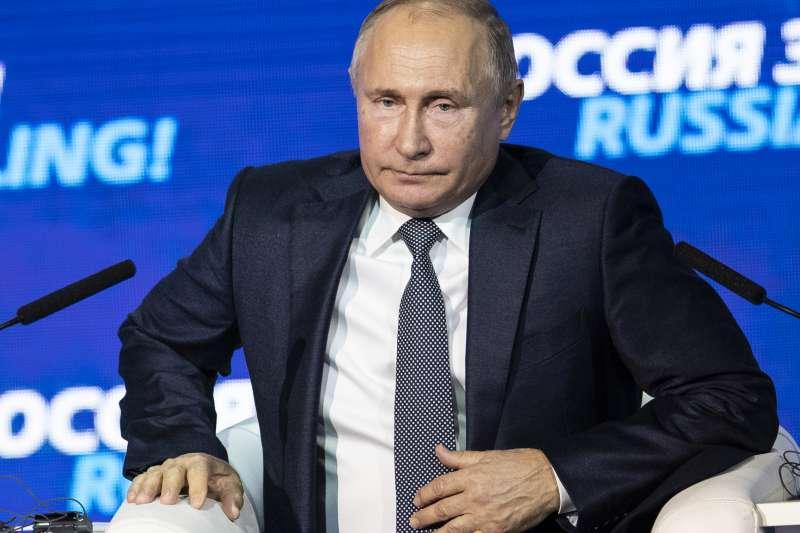 俄羅斯總統普京稱,烏克蘭為了2019年總統大選而進行挑釁(AP)