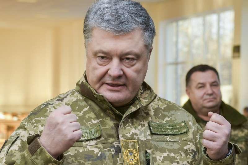 烏克蘭總統波洛申科稱,俄羅斯想要併吞整個烏克蘭(AP)