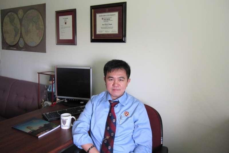 20181129 upload-美國哈佛大學甘迺迪政府學院研究員、台南大學行政管理學系主任馬群傑。(取自台南大學《南大報導》)